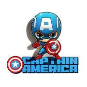キャプテンアメリカ3Dウォールライト