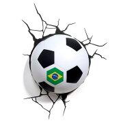 サッカーボール3Dウォールライト