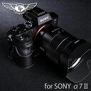 TP Original/ティーピー オリジナル Leather Camera Body Case レザーカメラボディケース for SONY α7SII/α7R...