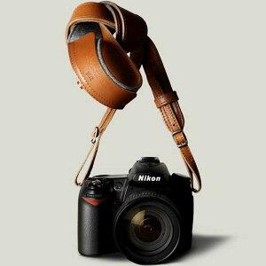 hardgraft イタリアンレザー カメラストラップ Brown ブラウン おしゃれ 本革 ネックストラップ 長さ調節可能 ストラップ 丸リング イタリア製 Italian Leather Neck Strap CAM-LONG-BRO