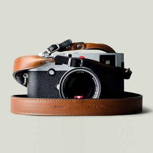 hardgraft イタリアンレザー カメラストラップ Brown ブラウン おしゃれ 本革 ネックストラップ ライカおすすめ 丸リング ストラップ 長さ調節可能 イタリア製 Italian Leather Neck Strap DUO-CAM-BRO