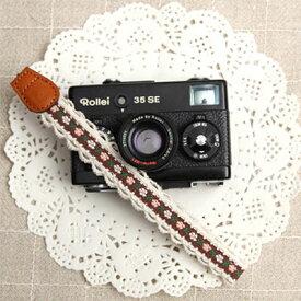 『クリックポスト発送!送料無料』 CIESTA/シエスタ Wrist Strap Breeze カメラリストストラップ CSS-FWS-15 Breeze Brown ブラウン カメラストラップ おしゃれ かわいい カメラ女子 ミラーレス一眼 クラシックカメラ コンパクト デジタルカメラ ひもタイプ