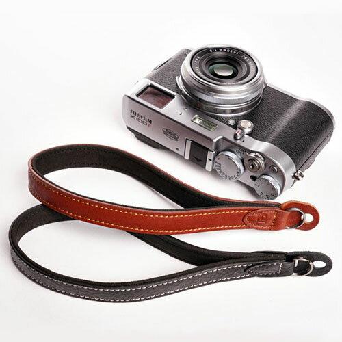 『クリックポスト発送!送料無料』 TP Original Leather Camera Wrist Strap 丸リング タイプ おしゃれ 本革 カメラリストストラップ Black(ブラック)/Brown(ブラウン) カメラストラップ ミラーレス一眼 クラシック レザーストラップ ハンドストラップ