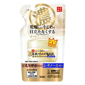 常盤薬品 サナ なめらか本舗 リンクルジェルクリーム N 詰替え用 (100g)