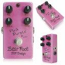 Bearfoot Guitar Effects Pink Purple Fuzz 4knob