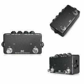 One Control Minimal Series Black Loop -2Loop with 2DC OUT-/ミニペダル