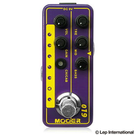 Mooer Micro Preamp 019 / ギター エフェクター アンプシミュレーター