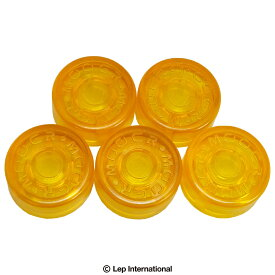 Mooer Footswitch Hat Yellow FT-YL (5pcs) / フットスイッチ ハット カバー キャップ ギター アクセサリー 【ゆうパケット対応】