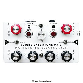 Mattoverse Electronics Double Gate Drone Synthesizer MKIV / シンセサイザー オシレーター ノイズ エフェクター ギター