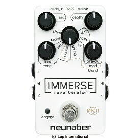 Neunaber Audio Effects Immerse Reverberator MkII White Out / ディレイ リバーブ エフェクター ギター