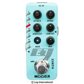 【4/9 20時からポイント最大84倍】Mooer E7 / ギター シンセ ポリフォニック対応 ギターシンセサイザー