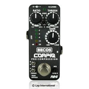BECOS CompIQ MINI Pro Compressor / ミニサイズの多機能スタジオクオリティコンプレッサー