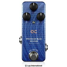 One Control PRUSSIAN BLUE REVERB / ミニペダル リバーブ ギター エフェクター