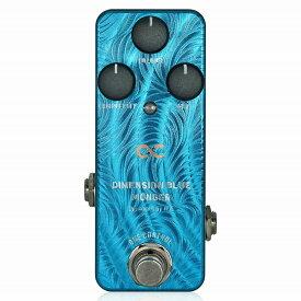 One Control DIMENSION BLUE MONGER / コーラス フランジャー エフェクター ギター ミニペダル