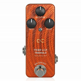 One Control TIGER LILY TREMOLO / トレモロ エフェクター ギター ヴィンテージアンプ ミニペダル