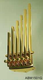 【納期: 約3ヶ月〜】ABM/ABM1501G シックスフィンガーテイルピース ゴールド(ショート)【お取り寄せ】【代引き不可】