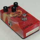 "Bearfoot Guitar Effects Dyna Red Hot Custom ""Blowtorched""ペイントモデル"