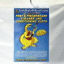 JJ's Gorgomyte Gorgomyte Polishing Cloth 【ゆうパケット対応可能】 / ゴルゴマイト フレット磨き クロス 指板 メンテナンス クリ…