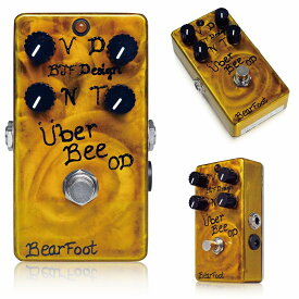 Bearfoot Guitar Effects Uber Bee OD