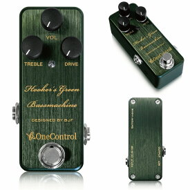 One Control Hooker's Green Bass Machine / ミニペダル