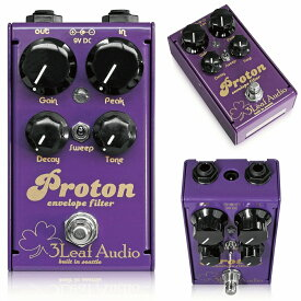 3Leaf Audio Proton V3 (動画あり) / Mu-tron III (ミュートロン) をより扱いやすく、コンパクトに再現! ベース エフェクター オートワウ