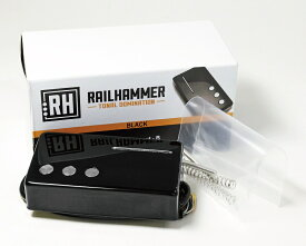Railhammer Pickups Cleancut Black Neck