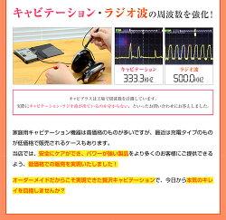 家庭用キャビテーション機器キャビプラス超音波高周波ラジオ波EMS赤LEDを自宅で刺激!ラジオ波LED自宅ケア02P03Dec16