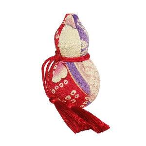 【木目込み人形】【木目込人形材料キット】【布裂地・型紙付(袋入り)】豆ひょうたん