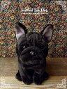 【フレンチブルドッグ・フレブル(黒)座り ver.】リアルで可愛い犬のぬいぐるみ【N-MM-D】【犬のぬいぐるみ】無料ラ…
