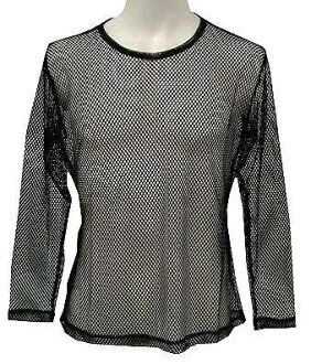 This is the Ninja? Long sleeve mesh t-shirt (black) XL
