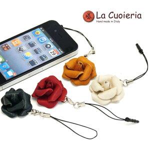 直輸入 イタリア インポート ラ クオイエリア La Cuoieria レザーストラップ バラ レディース メンズ スマホ 携帯 CE842
