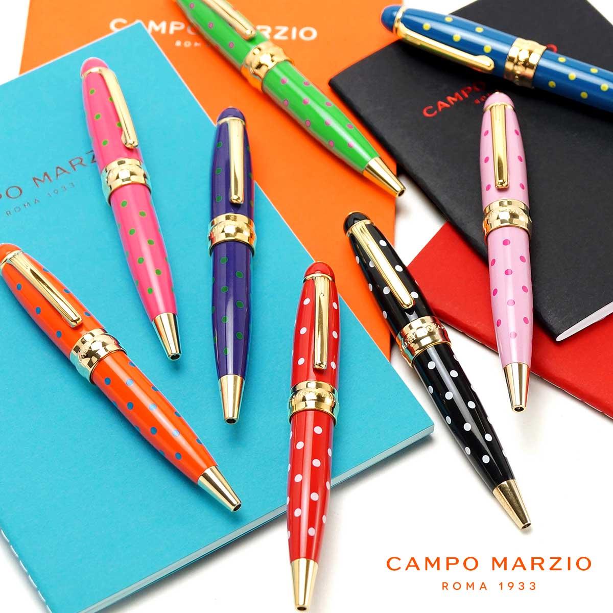 【イタリアブランド】 ボールペン 油性 おしゃれ かわいい ブランド カンポマルツィオ CAMPO MARZIO MINNY LP K326LP