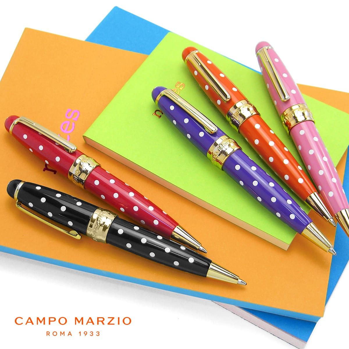 【イタリアブランド】 ボールペン 油性 おしゃれ かわいい ブランド カンポマルツィオ CAMPO MARZIO MINNY LP ボールペン K326LP