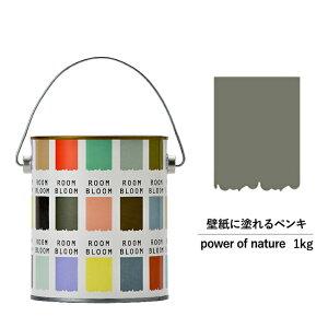 ペンキ 水性塗料 DIY ROOMBLOOM Matte power of nature 1kg 茶 ブラウン 日本ペイント | 水性ペンキ 水性 塗料 室内 壁 壁紙 室内用 ペイント 壁塗料 屋内 茶色 塗料缶 塗装 ニッペ 模様替え 天井 室内塗料