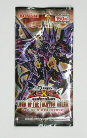 遊戯王ゼアル OCG ロード・オブ・ザ・タキオンギャラクシー BOX(写真はパックですが、シュリンクラップされた新品未開封ボックスでのお届けです)