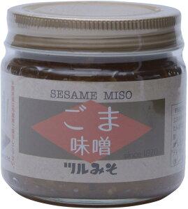 [鶴味噌醸造] ツルみそ ごまみそ 160g /国産 福岡県 九州 合わせ味噌 調味料 野菜スティック