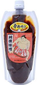 [鶴味噌醸造] ツルみそ 相撲味噌 チューブ 360g /国産 福岡県 九州 味噌ダレ ソースタイプ 焼鳥