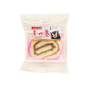 [イソップ製菓] 和菓子 スライスあか巻き 1個/和菓子/あんこ/餅/あん巻/あか巻/熊本/天草//