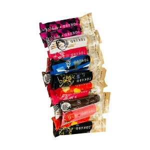 [オンザマーク] TOKUBO 8種20本化粧箱入り (チーズ3本、あんこ3本、チョコレート3本、苺3本 焼き芋2本、りんご2本、白あん2本、ラムレーズン2本、)20本800gTOKUBO 8種20本化粧箱入り (チーズ3本