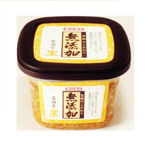 【早い者勝ち!5%OFFクーポン配布中!】国内産大豆 味噌 おいしい お取り寄せ グルメ ギフト 早川しょうゆ 無添加麦みそ 400g
