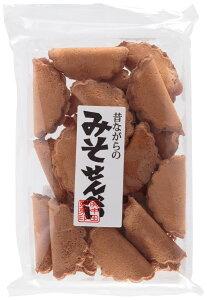 九州 宮崎 昔ながらの 懐かしい 菓子 煎餅 郷土銘菓 [健扇] 煎餅 昔ながらのみそせんべい 125g