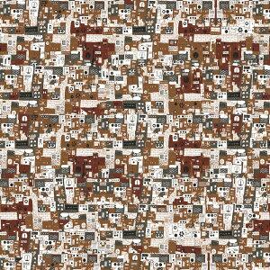 超撥水風呂敷ながれ machine(平織96cm)日本製 朝倉染布 レイングッズ エコバッグ 防災 周年記念品 結婚式引き出物 退職祝い