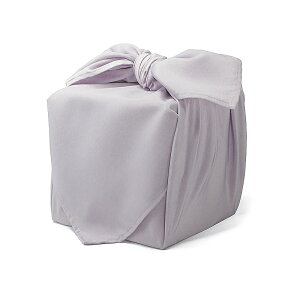 超撥水風呂敷ながれ 薄紫(無地)(平織70cm)日本製 朝倉染布 レイングッズ エコバッグ 防災 周年記念品 結婚式引き出物 退職祝い
