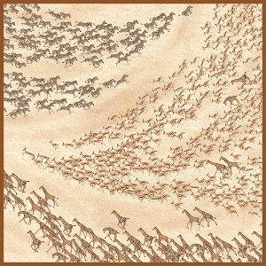 超撥水風呂敷ながれ サファリ(アムンゼン70cm)日本製 朝倉染布 レイングッズ エコバッグ 防災 周年記念品 結婚式引き出物 退職祝い