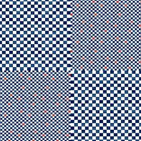 超撥水風呂敷ながれ 市松模様(平織96cm)日本製 朝倉染布 箱入り包装対応 レイングッズ エコバッグ 防災 周年記念品 結婚式引き出物 退職祝い