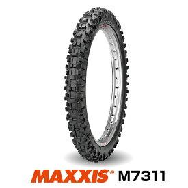 【法人宛送料無料】モトクロス 60/100-12 36M TT マキシス M7311 フロント用 Maxxcross SI エンデューロ MAXXIS■2018年製■