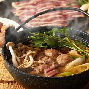 肉 お取り寄せフランス鴨 鍋つみれ セット 鴨つみれ 2パック 鴨もも肉スライス 1パック 鴨スープ4袋