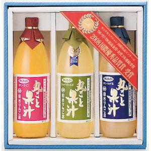 ジュース 完熟りんごをすりおろしたような豊かな香りが特徴。無添加りんごジュース 丸ごと果汁3本入