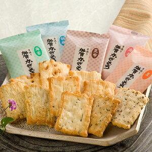 和菓子 加賀かきもち(素焼き) 有限会社加賀かきもち丸山 石川県 5種類の素材の風味を引き立てる加賀地方の郷土銘菓