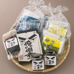 「司牡丹」純米大吟醸酒粕を皮と餡に使用したお饅頭と地元茶葉を使用したお饅頭、生産量日本一の高知県産のニラをふんだんに使用したニラの佃煮のセット!野っぱ